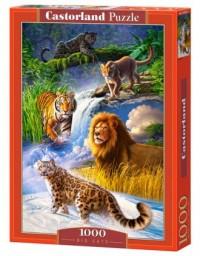 Big Cats (puzzle 1000-elem.) - zdjęcie zabawki, gry