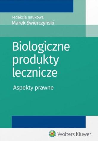 Biologiczne produkty lecznicze. - okładka książki