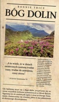Bóg dolin - okładka książki