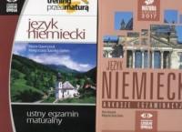 Język niemiecki. Matura 2017. Arkusze egzaminacyjne - okładka podręcznika