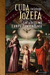 Cuda świętego Józefa - okładka książki