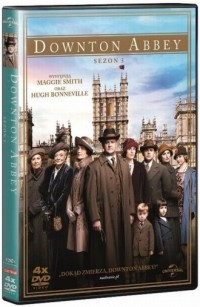 Downtown Abbey. Sezon 5 (4 DVD) - okładka filmu