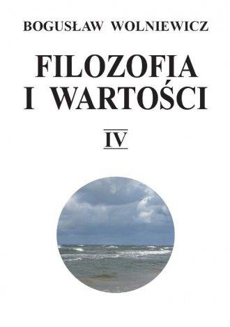 Filozofia i wartości IV - okładka książki
