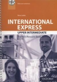 International Express. Upper Interediate Teachers Resource Book (+ DVD) - okładka podręcznika