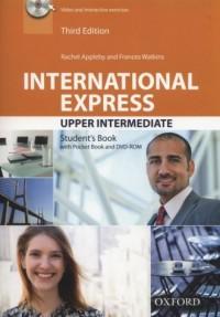 International Express. Upper Intermediate Students Book + Pocket Book ( DVD) - okładka podręcznika