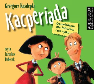 Kacperiada. Opowiadania dla łobuzów - pudełko audiobooku