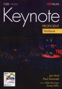 Keynote. Proficient C2 Workbook (+ CD) - okładka podręcznika