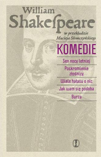 Komedie - okładka książki