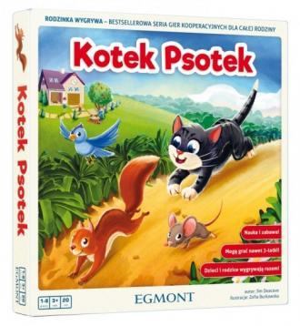 Kotek Psotek - zdjęcie zabawki, gry