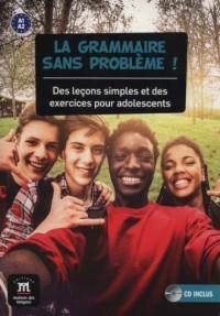 La Grammaire Sans Probleme A1-A2 (+ CD) - okładka podręcznika