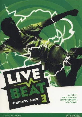 Live Beat 3. Students Book - okładka podręcznika