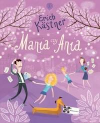 Mania czy Ania - okładka książki