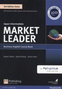 Market Leader. Extra Upper Intermediate Course Book(+ DVD MyEnglishLab) - okładka podręcznika