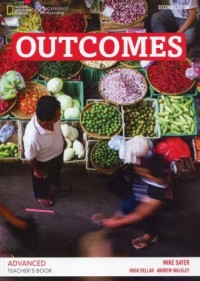 Outcomes. Advanced Teachers Book (+ CD). Poziom C1 - okładka podręcznika