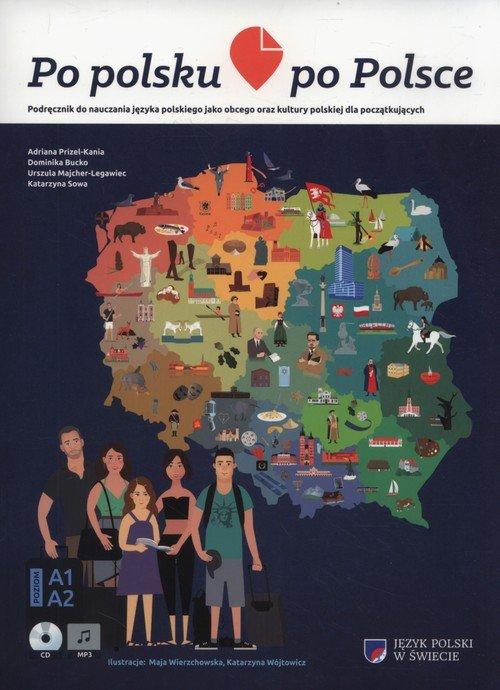 Po polsku po Polsce. Podręcznik - okładka podręcznika