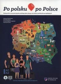 Po polsku po Polsce. Podręcznik do nauczania jezyka polskiego jako obcego oraz kultury polskiej dla początkujących - okładka podręcznika