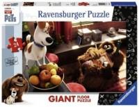 Sekretne życie zwierzaków domowych (puzzle podłogowe 24-elem.) - zdjęcie zabawki, gry
