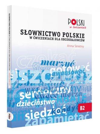 Słownictwo polskie w ćwiczeniach - okładka podręcznika