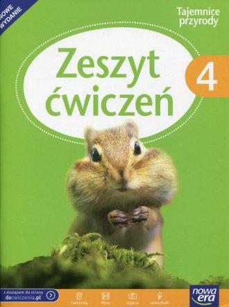 Tajemnice przyrody. Klasa 4. Szkoła - okładka podręcznika