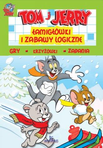 Tom i Jerry. Łamigłówki i zabawy - okładka książki