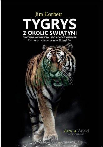 Tygrys z okolic świątyni - okładka książki