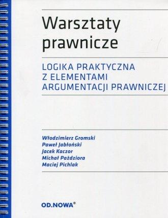 Warsztaty prawnicze. Logika praktyczna - okładka książki