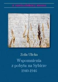 Wspomnienia z pobytu na Sybirze - okładka książki