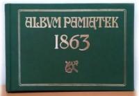Album Pamiątek 1863 - okładka książki