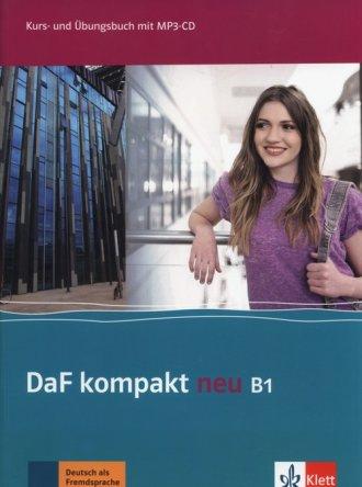 DaF Kompakt Neu B1 Kurs- und Ubungsbuch - okładka podręcznika