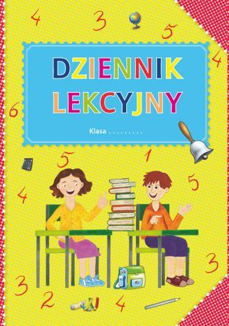 Dziennik lekcyjny ze skrzydełkiem - okładka książki