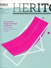 Herito nr 24 Wzorowanie Dizajn w Europie Środkowej - okładka książki