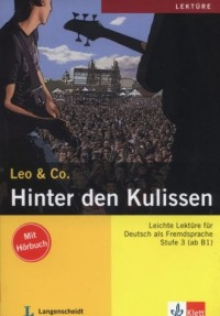 Hinter den Kulissen (+ CD) - okładka podręcznika