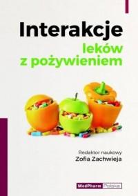 Interakcje leków z pożywieniem - okładka książki