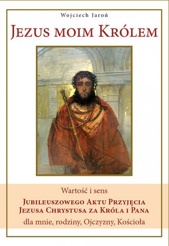 Jezus moim Królem - okładka książki
