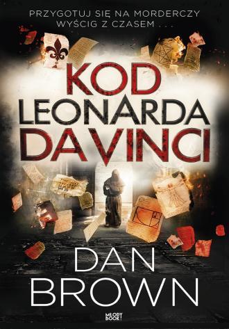 Kod Leonarda da Vinci (wydanie - okładka książki