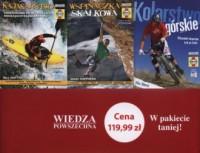 Kolarstwo górskie / Wsponaczka skałkowa / Kajakarstwo. PAKIET - okładka książki