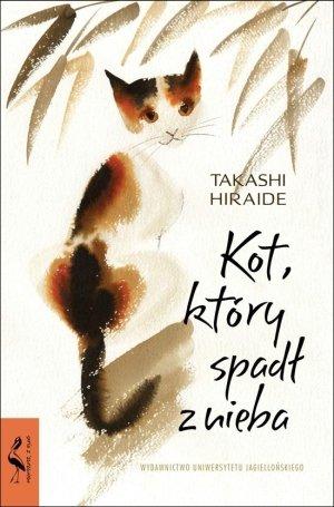 Kot, który spadł z nieba - okładka książki