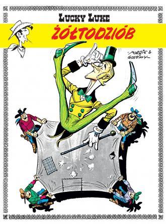 Lucky Luke. Żółtodziób - okładka książki