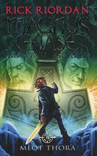 Młot Thora. Magnus Chase i bogowie - okładka książki