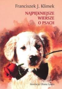 Najpiękniejsze wiersze o psach - okładka książki