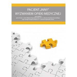 Pacjent INNY wyzwaniem opieki medycznej - okładka książki