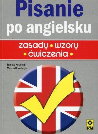 Pisanie po angielsku - zasady, - okładka podręcznika