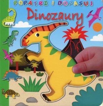 Popatrz i dopasuj. Dinozaury - okładka książki