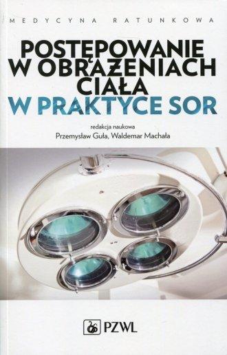 Postępowanie w obrażeniach ciała - okładka książki