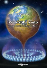 Protokół z Kioto. Analiza decyzji międzynarodowej - okładka książki