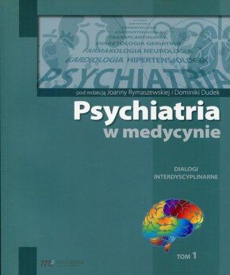 Psychiatria w medycynie - okładka książki