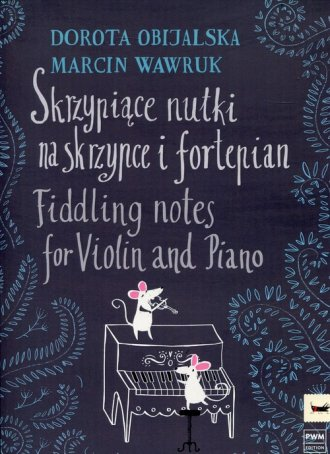 Skrzypiące nutki na skrzypce i - okładka książki