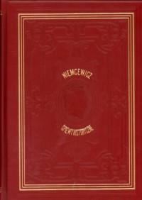 Śpiewy historyczne - okładka książki