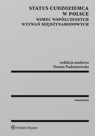 Status cudzoziemca w Polsce wobec - okładka książki