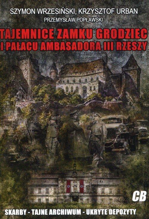 Tajemnice zamku Grodziec i pałacu - okładka książki